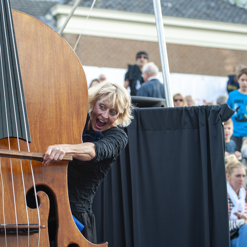 <strong>Doublee met Cello act</strong><br><p>Leidens Ontzet 2016</p>