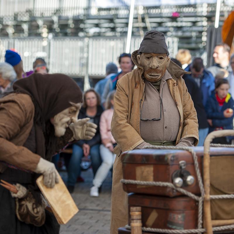 <strong>Theater van de droom: Brammert en Beertje</strong><br><p>Leidens Ontzet 2016</p>