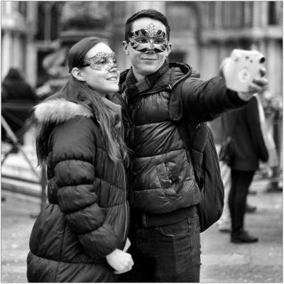<strong>Carnaval Venetie Selfie</strong>